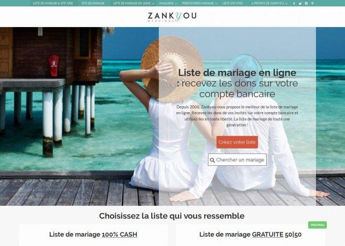 liste de mariage zankyou - Liste Mariage Zankyou