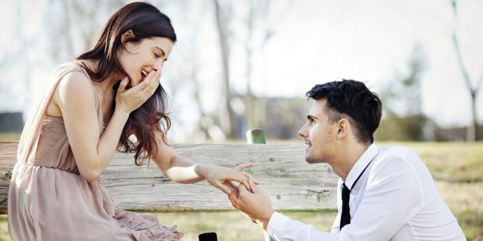 Demande en fiançailles