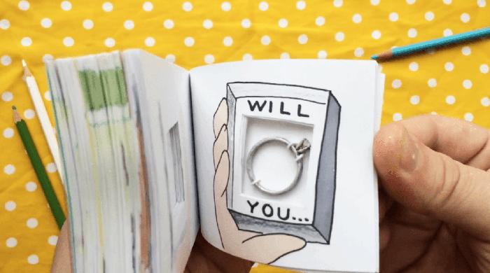 Flipbook-mariage