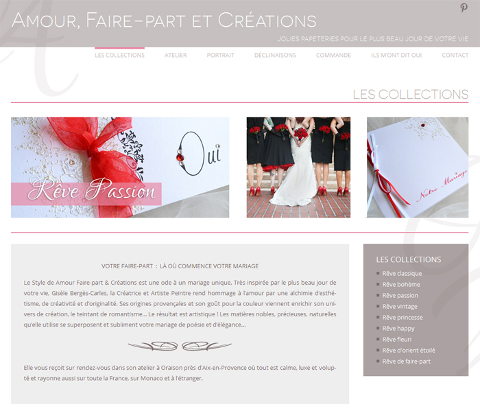 site-faire-part-amour-et-creation