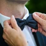 Le noeud papillon le jour du mariage