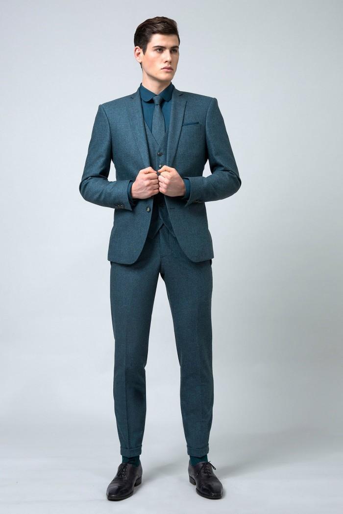 costume-sur-mesure-3-pieces-bleu-canard+2