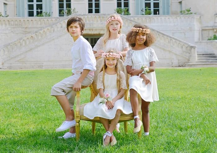 Tenues de mariage pour enfant
