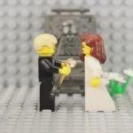Une Love story en lego en 73 secondes