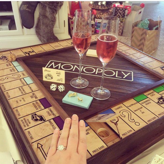 demande en mariage monopoly