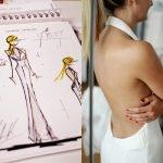 Robe de mariage Sur Mesure : Laurent Kapelski