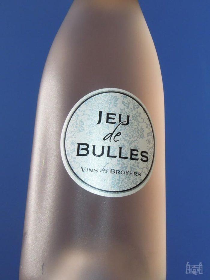 jeu de bulles vins des broyers